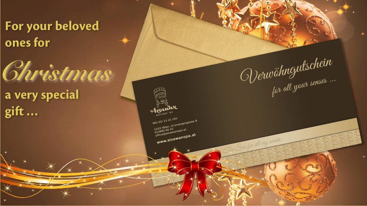 The perfect Gift for Christmas! • News • AISAWAN