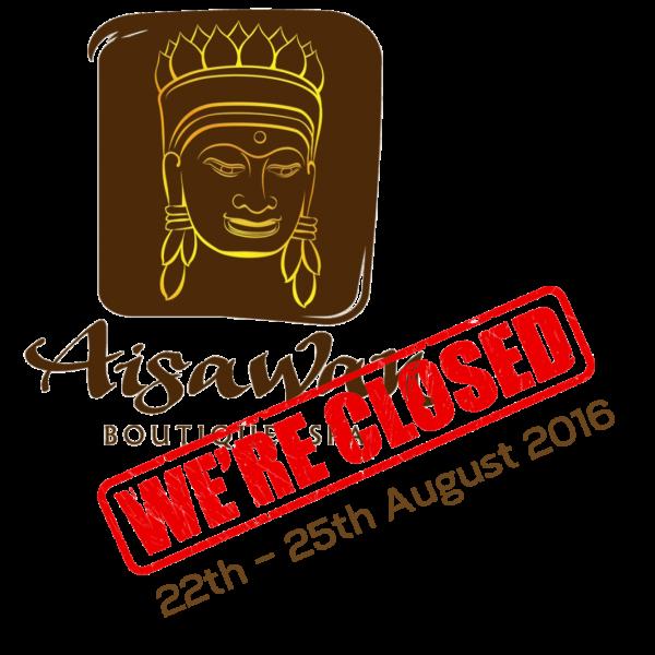 We're closed !