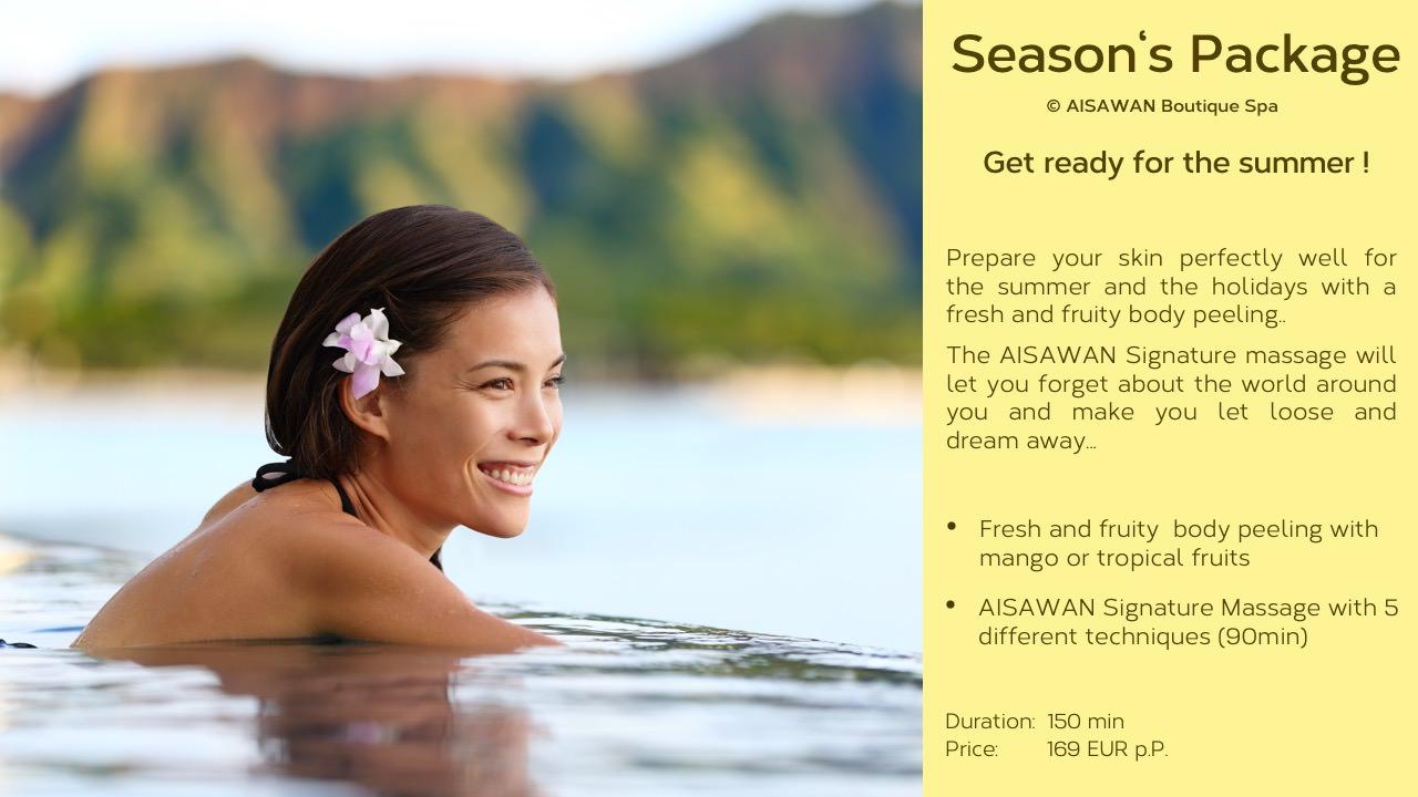 spa package, seasons package